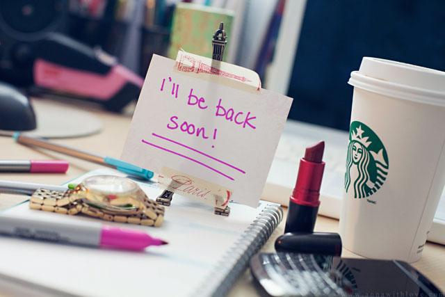 be back soon (c)
