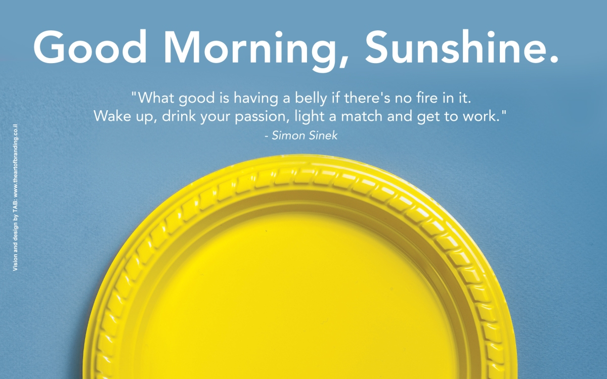 Good Morning Sunshine Words : Love this philosophy michael watts
