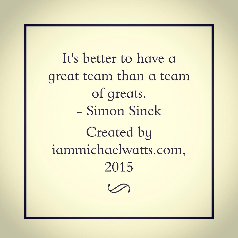 Quote Simon Sinek Michael Watts