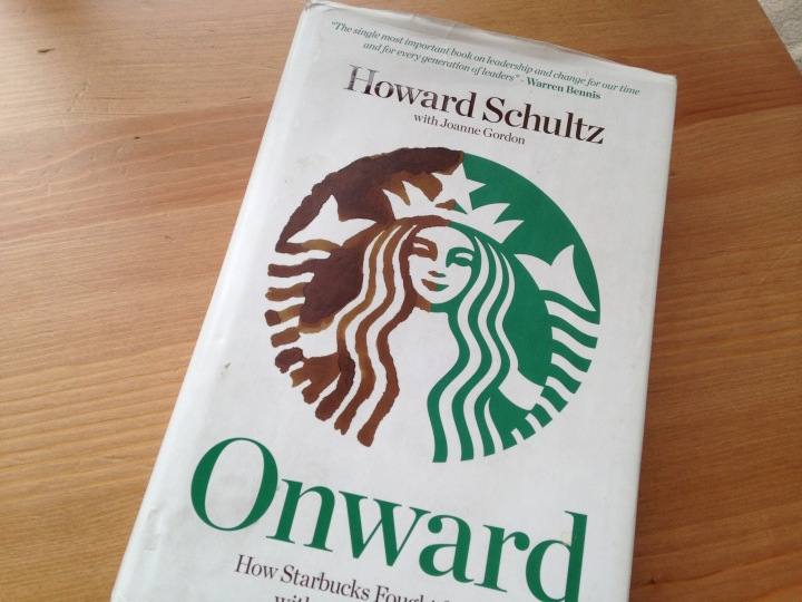 Book 1 – Onward by Howard Schultz