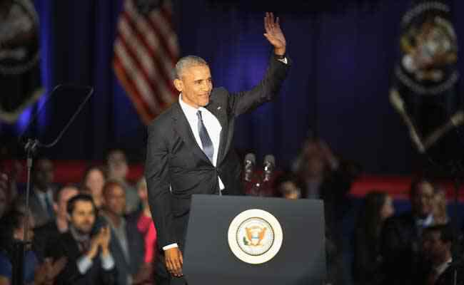Believe you can create change – President Obama