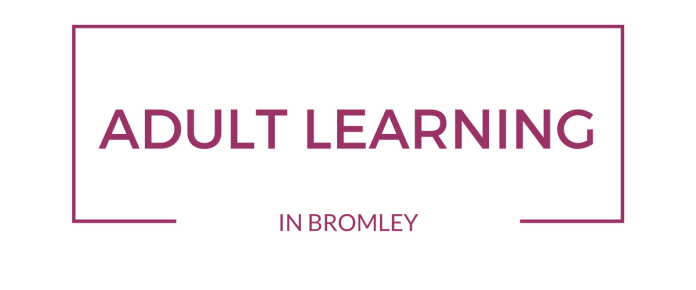 Adult learning sign