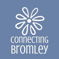 ConnectingBromley_brandmark_reversed_onblue