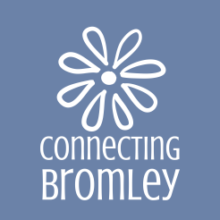 ConnectingBromley_brandmark_reversed_onblue