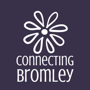 ConnectingBromley_brandmark_reversed_ondarkpurple