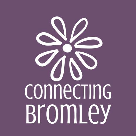 ConnectingBromley_brandmark_reversed_onpurple