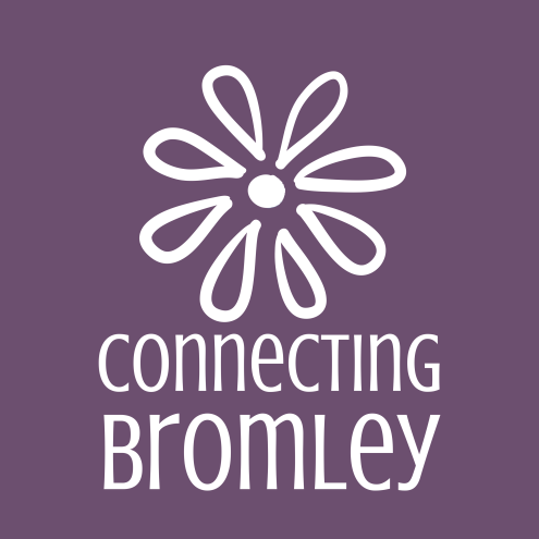 ConnectingBromley_brandmark_reversed_onpurple